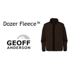 GEOFF ANDERSON Dozer Fleece brown (Dydis M-XXL)