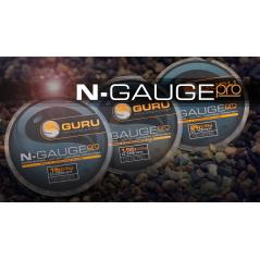 GURU N-Gauge Pro Hooklength 100m (0,09-0,10mm)