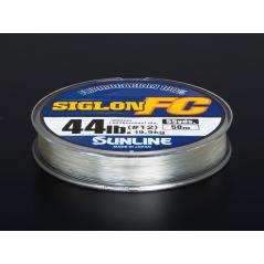 SUNLINE Siglon 100% Fluorocarbon 50m (0,38-0,60mm)