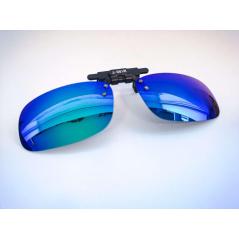 Prisegami poliarizuoti akiniai (veidrodiniais, lęšiais)