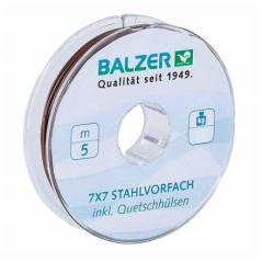 BALZER medžiaga pavadėliams 7x7 Niroflex 5m (9-13Kg)