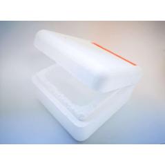 ZUMPĖ dėžutė uodo trūklio lervoms (keturkampė)