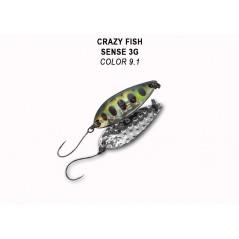 CRAZY FISH Sense 3g (32mm 3g)