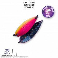 CRAZY FISH Sense (28mm 2,2g)