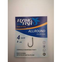 FLYING FISH kabliukai Allround  (Nr.12-1)
