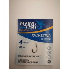 FLYING FISH hooks Idumezina (Nr.6-4)