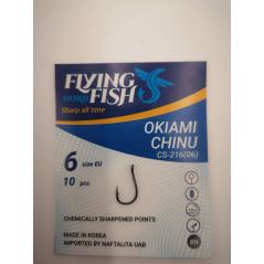 FLYING FISH kabliukai Okiami Chinu (Nr.12-10)
