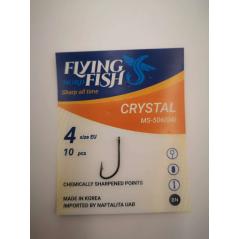 FLYING FISH kabliukai Crystal (Nr.8-2)