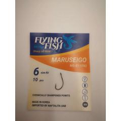 FLYING FISH kabliukai MARUSEIGO (Nr.10-4)
