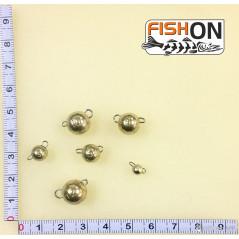 Volframinės čeburaškos (1-12g) Aukso spalvos