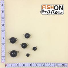 Volframinės čeburaškos (1-12g) Juodos spalvos