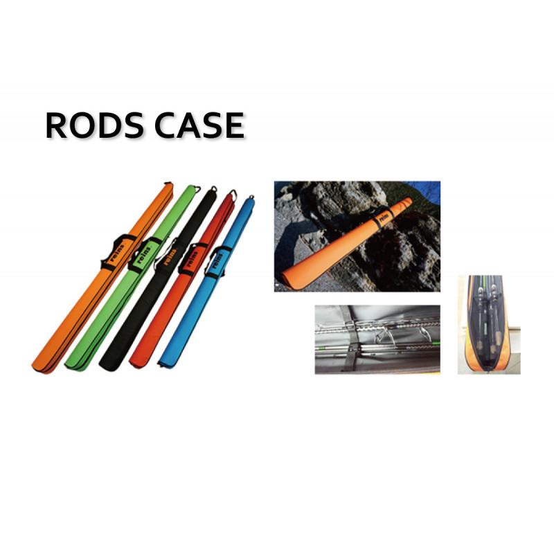 REINS Rod Case Green/Black 150cm