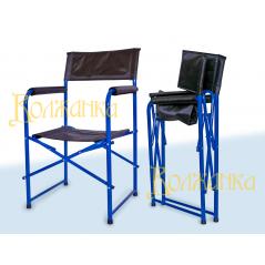 VOLZHANKA sulankstoma kėdė su atlošu ir porankiais