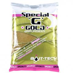 BAIT TECH jaukas Special G Gold Groundbait 1kg