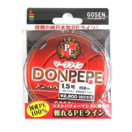 GOSEN PE Don Pepe 150m Multi Color (0.4-1.5)