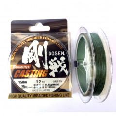 GOSEN W8 Casting PE 150m Green (0.6-2.0)