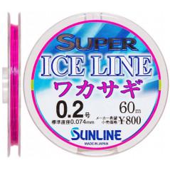 SUNLINE Super Ice Line Wakasagi Fluoro 60m (0.3-0.6)