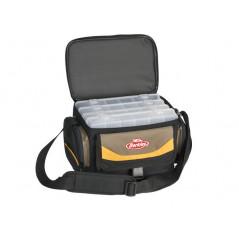 BERKLEY krepšys 28x19,5x18,5cm Grey/Yellow/Black