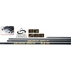 TRAPER Quick Stick 4,5m (sudedamas 4 dalių)