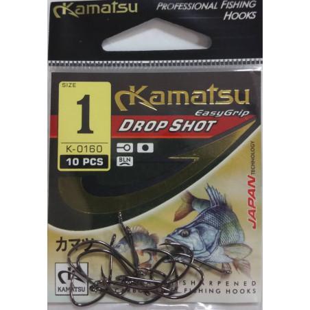 Kamatsu Drop Shot Black K-0160-BLN (Nr.4-1) 10vnt/pak