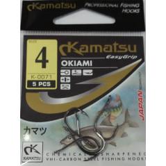 KAMATSU kabliukai Okiami K-0071-BLN (Nr.12-4)