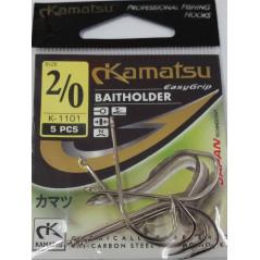 KAMATSU kabliukai Baitholder K-1101-N (Nr.2/0-5/0)